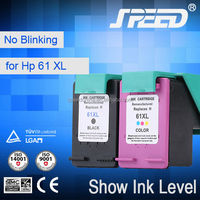 Speed refilling ink cartridges for hp 61