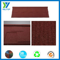 Sand coated metal roofing tile, flat roofing materials metal roof