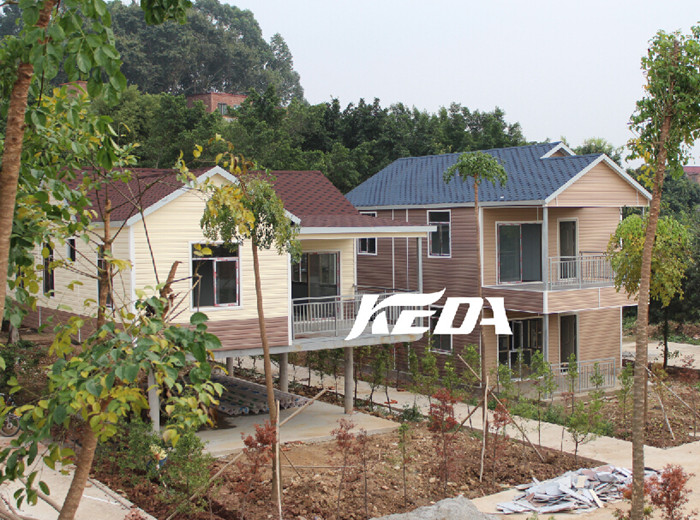 Low Cost Easy Assemble Home Steel Prefabricated House Residential