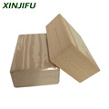 Wood grain high density EVA foam Eco friendly Yoga brick customized Non toxic yoga block for bodybuilder to exercise training