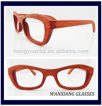 New Fashion Designer Eyewear Bamboo Sunglasses