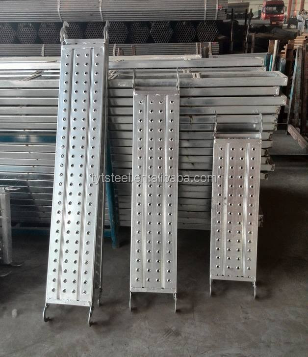 metal wall board aluminium composite sheet steel scaffolding walk boards