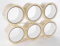 Self Adhesive Cellotape Clear Brown Tan Color Packing Tape Sealing Tape