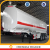 China Manufacture 45M3 oil Tanker semi trailer for Sale to Africa