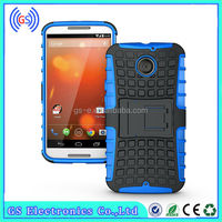 Armor Shockproof case Hybrid Combo with kickstand Hard Case for Moto X+1