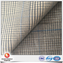 HUAYE cotton stretch heritage check plaid woven fabric
