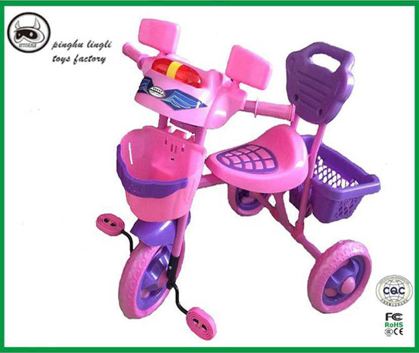 LL2009B Pinghu Lingli baby bicycle price,Toy vehicle with three wheels,baby tricycle ride on vehicle baby tricycle