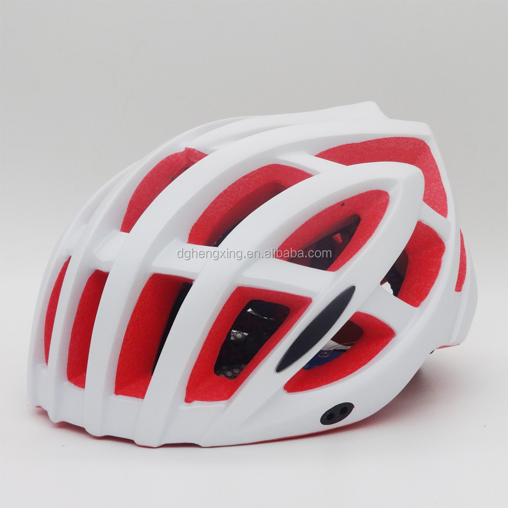 super light unibody EPS plastic bicycle helmet