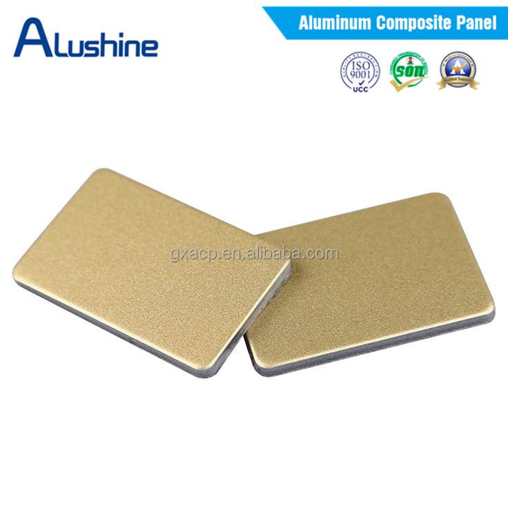 3mm aluminum sandwich panel for interior wall cladding acp for Aluminium composite panel interior decoration