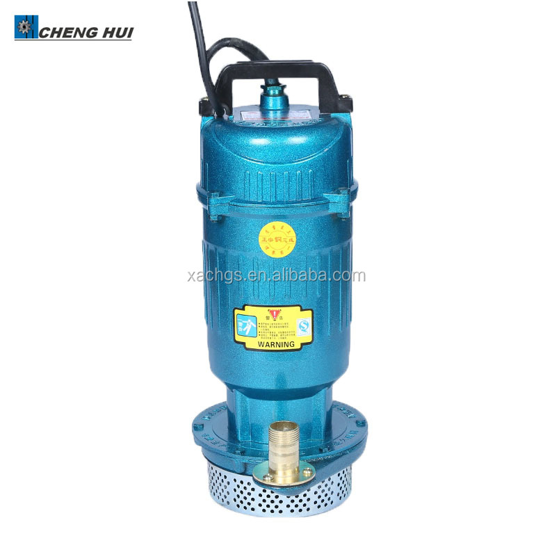 Qdx Farmland Well Water Pump 1hp Sewage Submersible Pump
