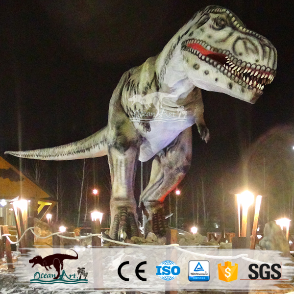 OA2153 theme park high emulation large dinosaur sculptures
