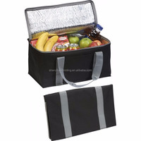 Factory provide directly thickening long strap non woven insulated food storage picnic camping use family cooler bag
