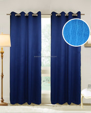 sheer curtain jacquard fabric single color 120 gsm