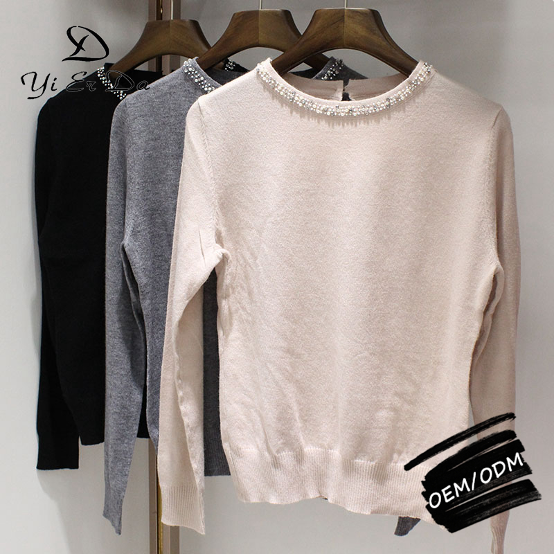 Elegant Beautiful Fashion Europe Style Knitting Pullover Sweaters For Women