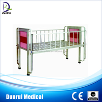 DR-315 Guangdong Iron and Wooden Flat Children Hospital Bed