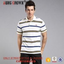 New Fashion Custom Polo T Shirts Pique Fabric Soft For Men Low MOQ