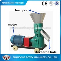 Animal feed pellet machine get the authorized certification