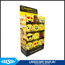 Custom made cardboard floor display / corrugated pop display / paper floor display for plush toys
