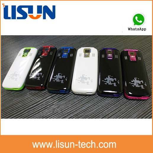 Small size Slim mobile phone mini 5130 with whatsapp/facebook