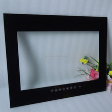 Touch control display screen glass cover