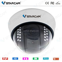 Indoor IP Camera HD H.264 Wired CCTV Cammera with 32G Card Slot P2P HD Half Dome ONVIF IP Camera