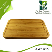 Vegetable cheese and breakfast use closeout bamboo cutting board