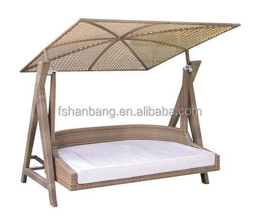 Indoor Outdoor Garden Rattan Wicker Swing With Roof Buy Swing With Roof Gar