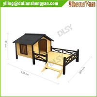 2014 High Quality Wooden Dog Kennel