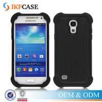 Dual Layer Rugged Heavy Duty Armor Defender Hard Hybrid Shock Absorbing Case for Samsung Galaxy S4 Mini LTE i9190 i9192 i9195