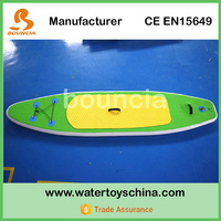 Inflatable SUP Stand Up Paddle Board For Water Sports / Surfboard With Durable PVC Tarpaulin