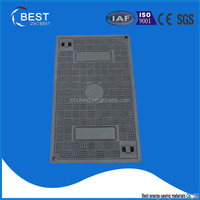 Zibo best China supplier rectangular jrc 12 carriageway manhole cover and frame