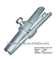 BS1139 drop forged scaffolding joint pin
