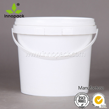 2.5 liter free sample plastic barrels with lids and handles