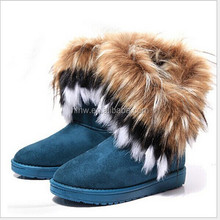 W20289G 2015 new winter beautiful women's fashion warm snow boots