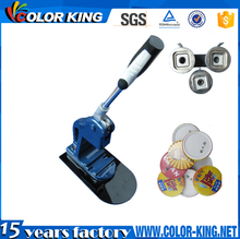 15 Years Factory supply low price Cheap button press machine badge making machine without mould