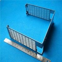 Electric plate aluminum car used bended accessory, Aluminium Laser Cutting and Bending Machining Part