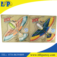 Promotional wind up plastic flying birds toy wind up eagle toy for kid