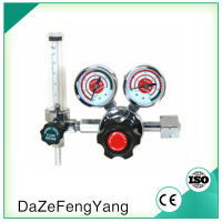 Hydrogen gas regulator Flowmeter regulator high/low pressure