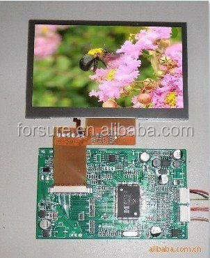 Color LCD screen 4.3 inch Sunlight readable