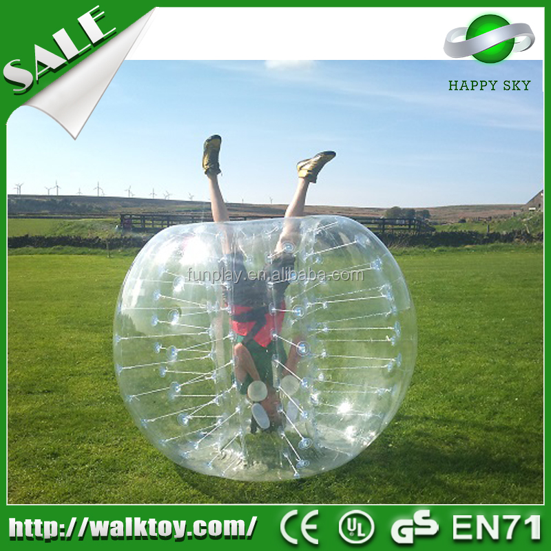 HI 2016 Factory Direct Wholesale cheap inflatable bubble soccer ball set