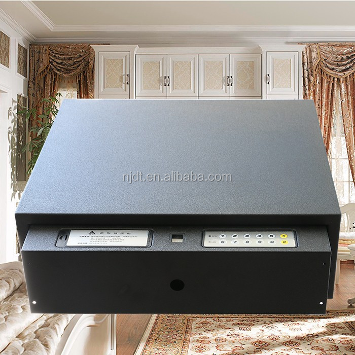 drawer box with biometric lock