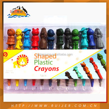 Standard Design Practical Made In China Non Toxic Wax Crayon