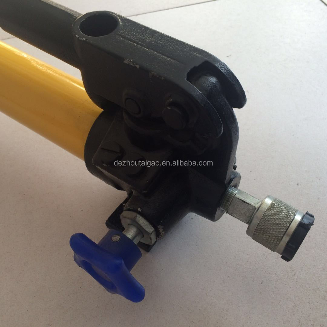 Factory direct portable hydraulic manual pump in China