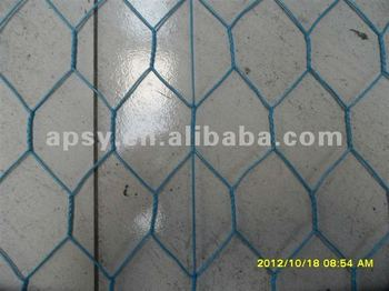 pvc coated after weaving bird cage wire mesh
