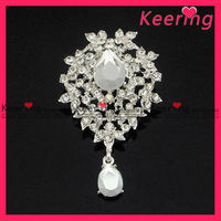 Bestseller Rhinestone design brooch back bar pins WBR-1102