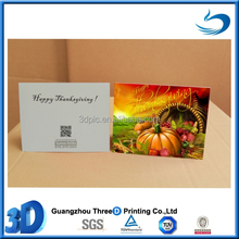 3d lenticular thanksgiving card