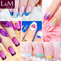 L&M Wholesale Bulk Package Soak Off One Step Color Gel Polish