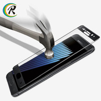 Factory Price reflective products new arrival for samsung galaxy note 7 full cover pet screen