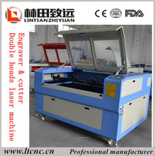 Hobby up and down table wood laser cutting machine 1290 Co2 laser cutter for plastic board