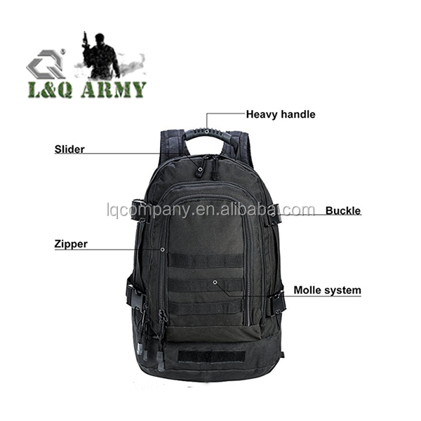 MOLLE Tactical Military Camo Expandable Bag Move Out Travel Bag